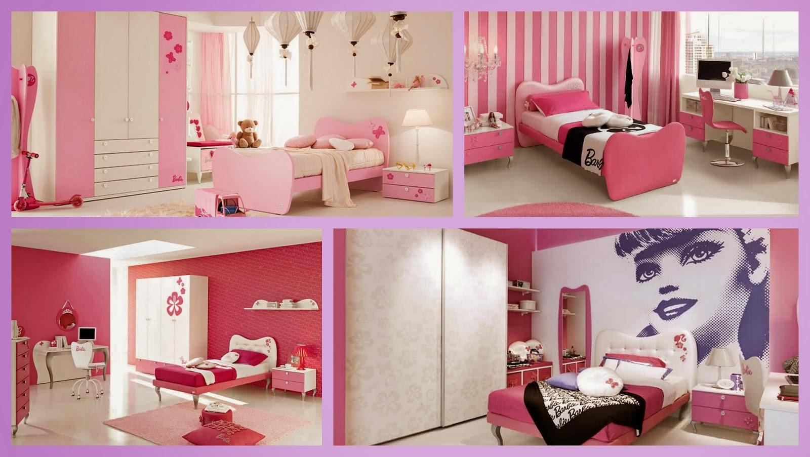 Quarto Decorado Infantil Da Barbie ~ alguns leves toques rosa, todo branco com algumas pe?as decorativas