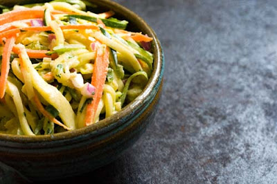 zucchini coleslaw