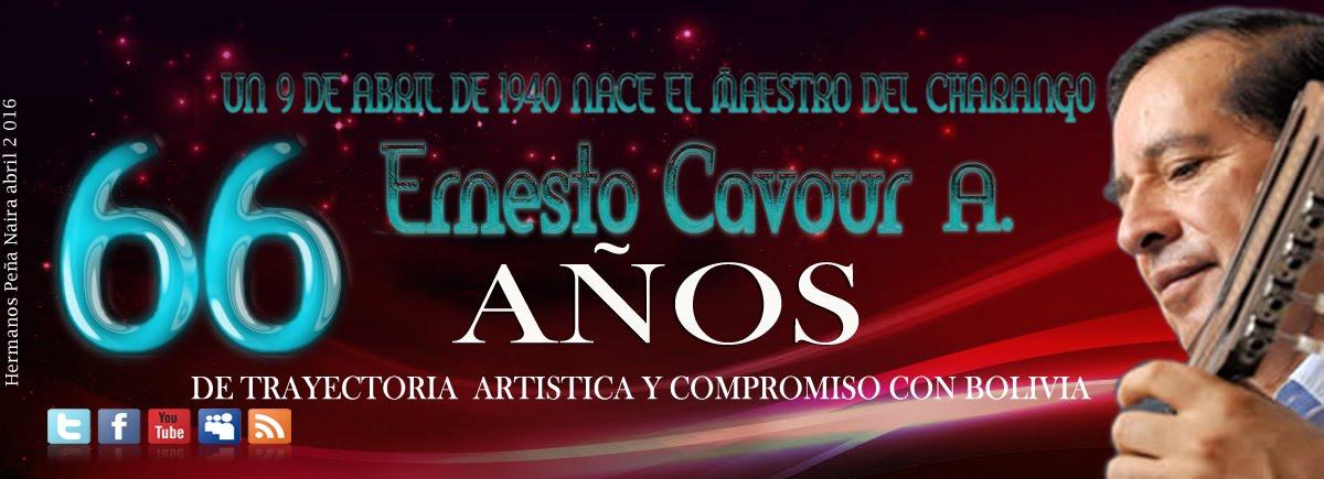 Ernesto Cavour A. 66 años de trayectoria artística y compromiso con Bolivia
