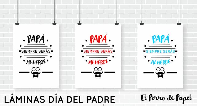 Láminas día del Padre 2015