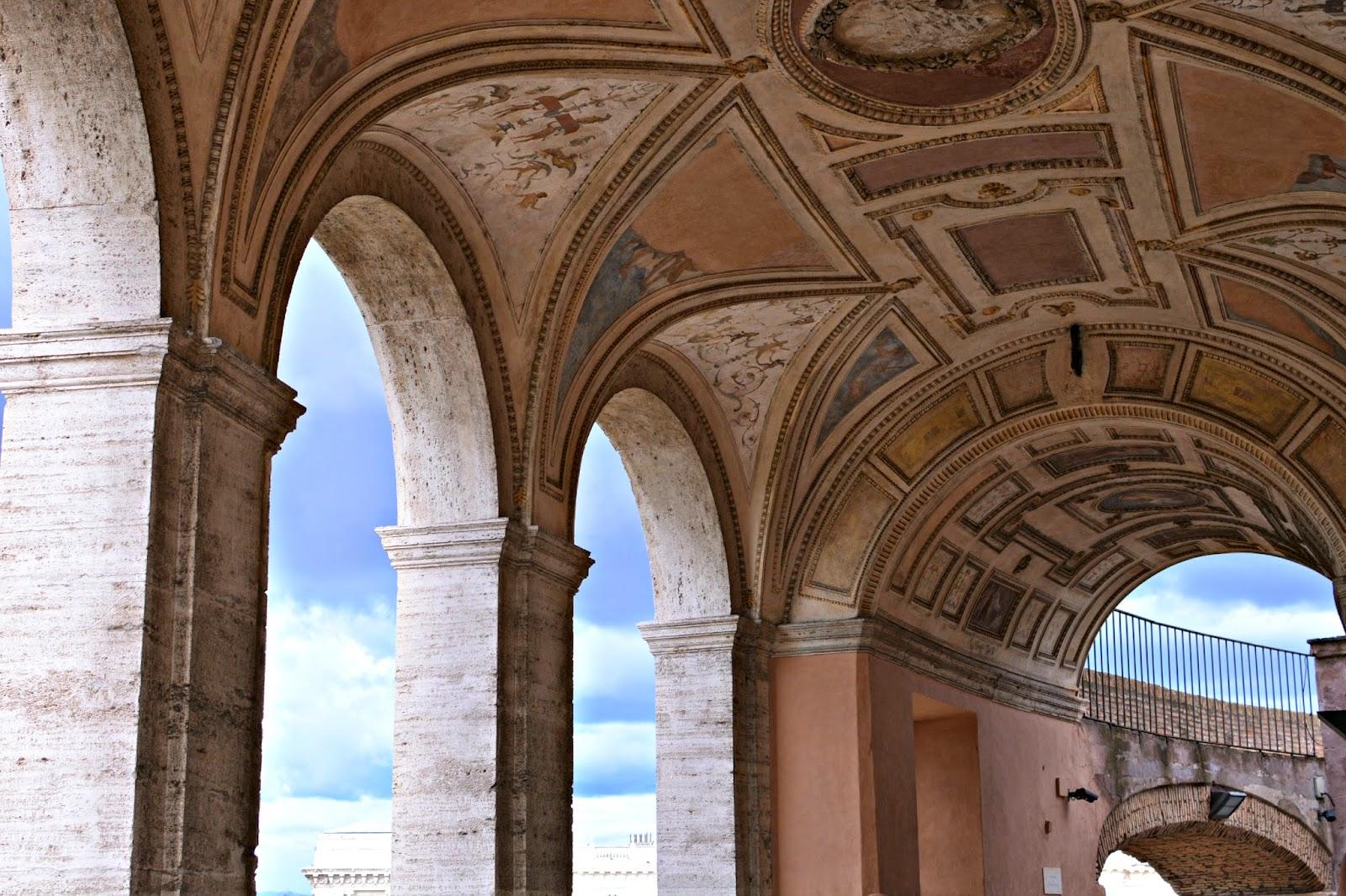 Ceilings of Castel Sant'Angelo