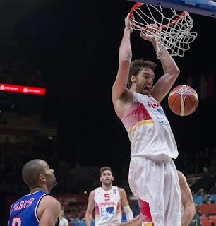 BALONCESTO (EuroBasket 2015) - Gasol-ina de 40 puntos para apretar en el 4º cuarto y ganarse una final y unos JJOO en la prórroga ante los anfitriones