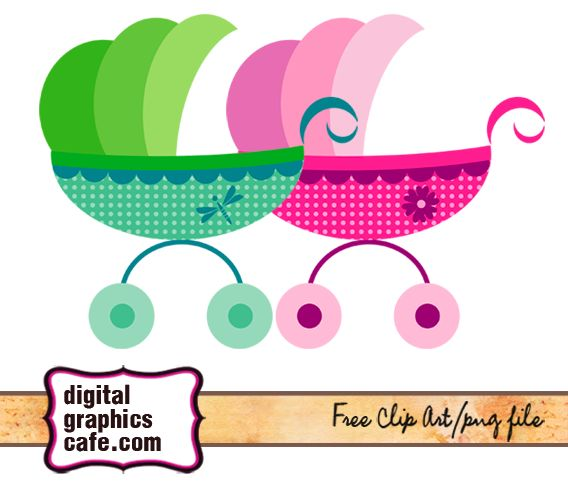baby stroller clipart