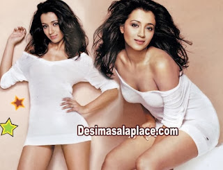 Trisha Hot Video Photo Shoot