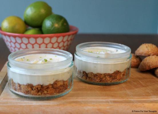 Lime & Amaretti Cheesecake Recipe