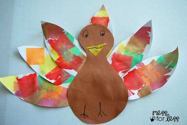 Turkey Craft #ThisIsBing #sponsored