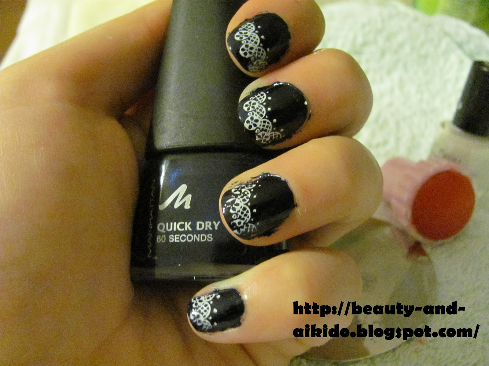 Stamping Nail Art- Konad m77 ~ Beauty and Aikido