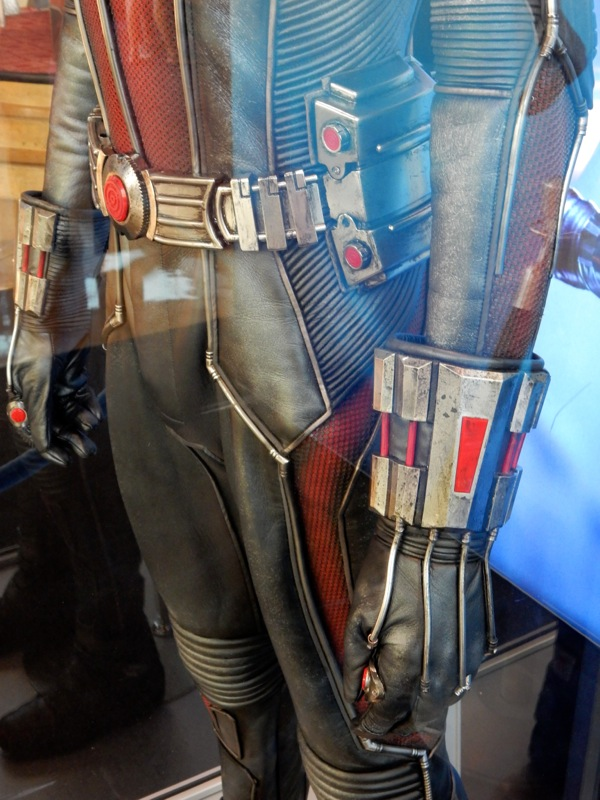 AntMan movie costume glove detail