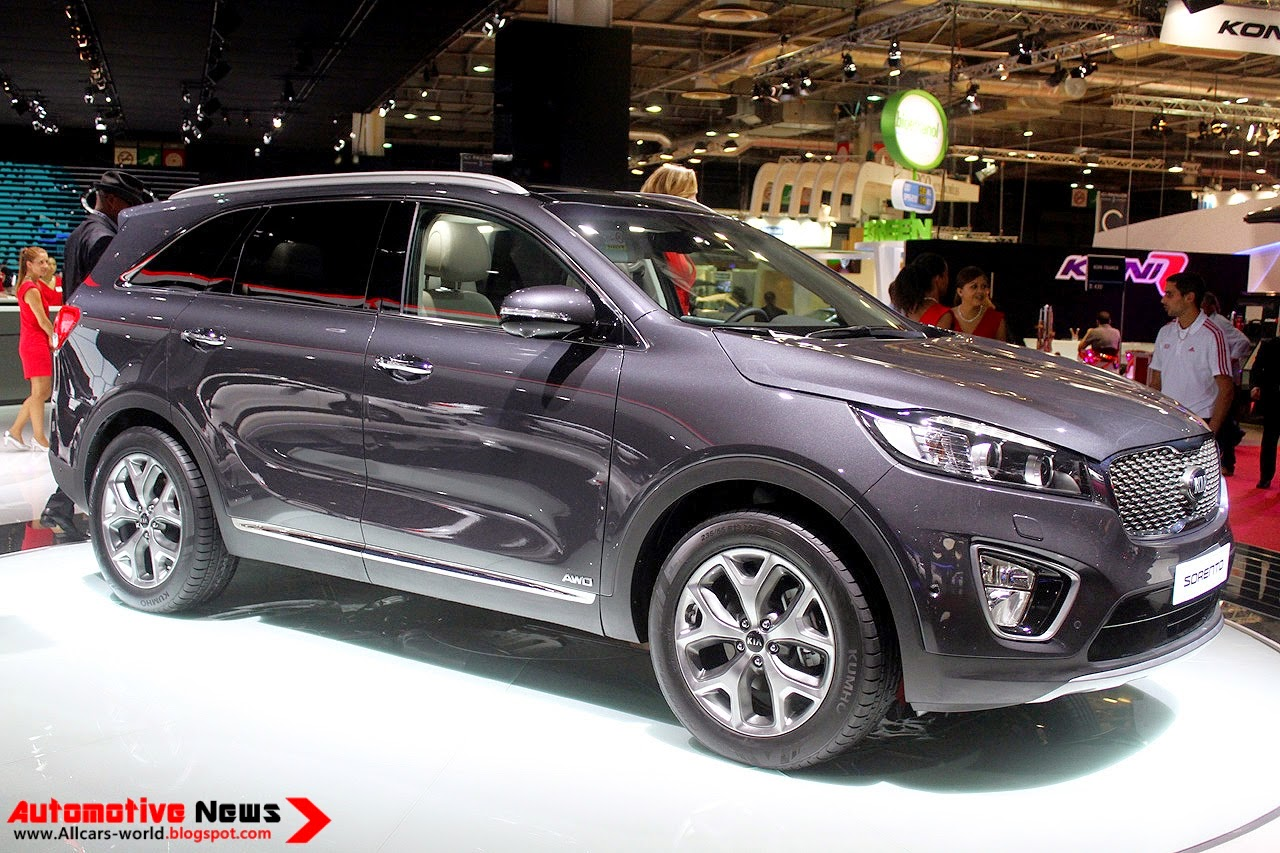 automotive news 2015 kia sorento review. Black Bedroom Furniture Sets. Home Design Ideas