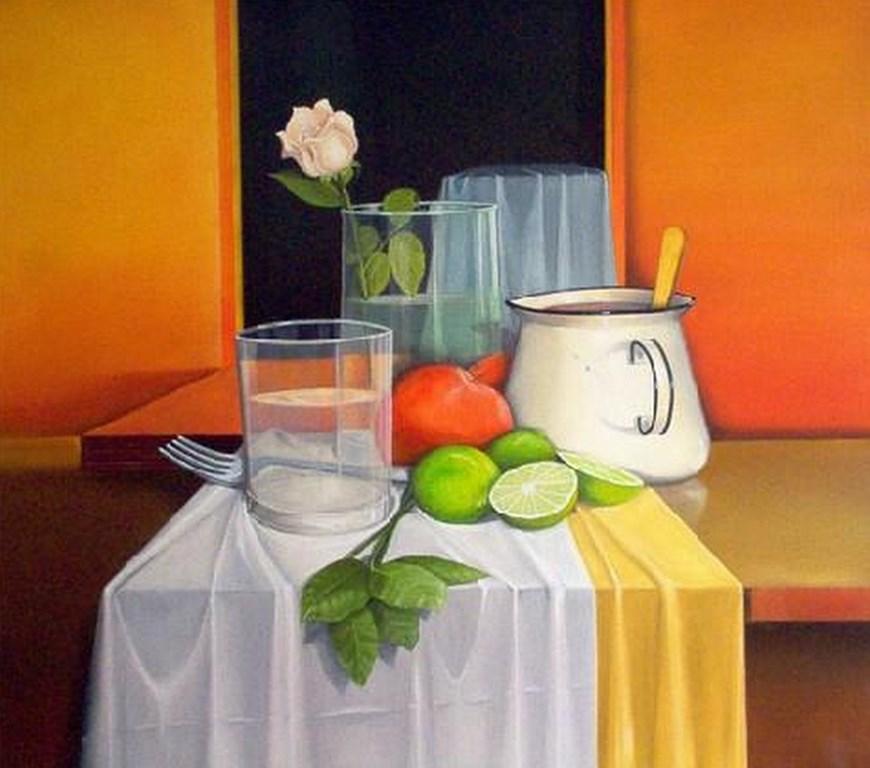 Cuadros modernos pinturas y dibujos bodegones modernos - Cuadros modernos para pintar ...