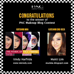 Winner of PAC MAKEUP BLOG Competition 2013