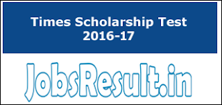 Times Scholarship Test 2016-17