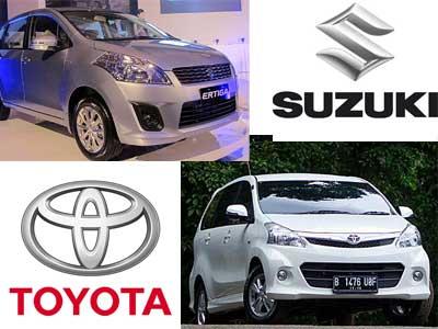 Toyota Avanza vs Suzuki Ertiga