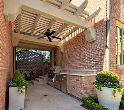 Fotos de techos techos de terraza for Techos de tejas para patios exteriores