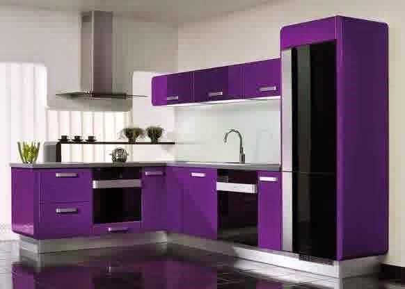 desain lemari dapur minimalis dan elegan