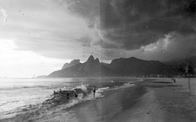 Tour de praias do Rio de Janeiro -  Ipanema em 1980