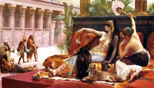 Cleopatra,Alexandre Cabanel, painting