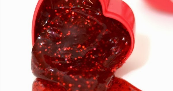 Melting Heart Slime Recipe Growing A Jeweled Rose