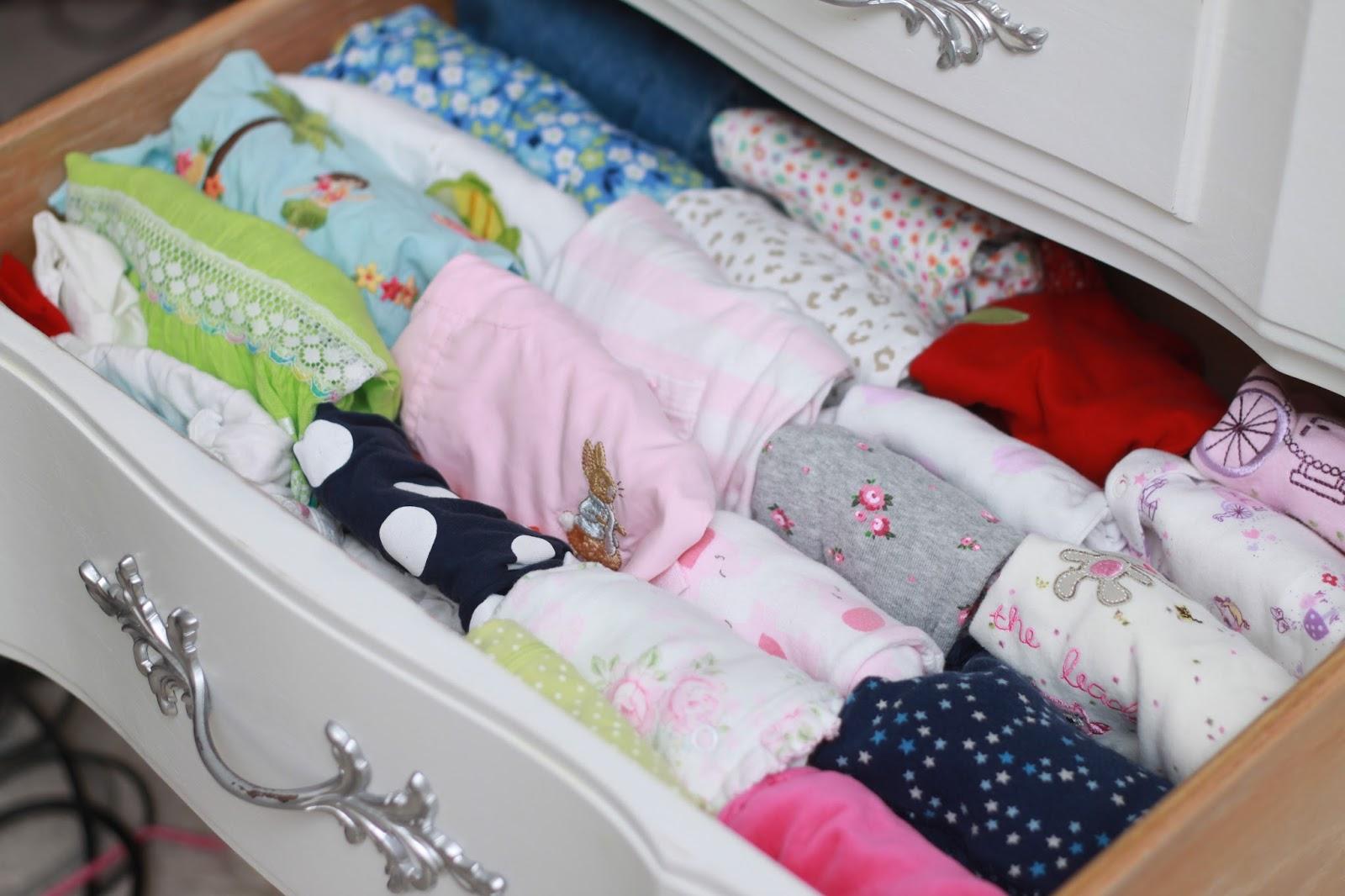 baby dresser organized