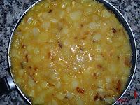 Tortilla española rellena - Paso 4