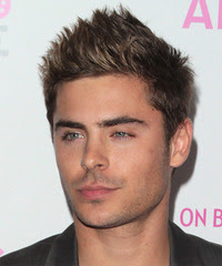 ZAC EFRON SPIKE HAIRSTYLE