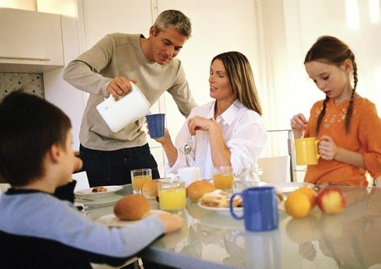 Desayuno rico y nutritivo