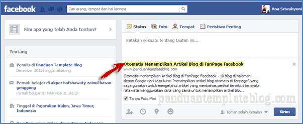 Meningkatkan Jumlah Visitor Blog Melalui Facebook
