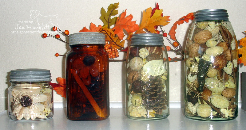 ... food storage mason jars old or new are also fun to use for home decor