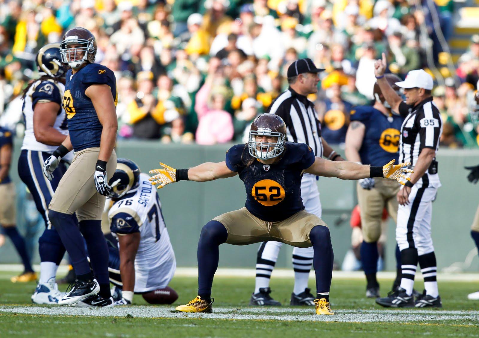 Packers' 2011 Throwbacks