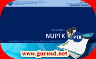 Mekanisme Penerbitan Usul NUPTK Baru Oleh PDSP