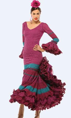 El Corte Inglés traje de flamenca perforado