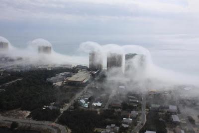 Fotos Tsunami de nubes en Panama City