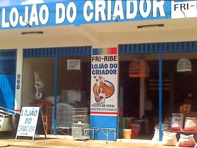 LOJÃO DO CRIADOR RAÇÕES EM GERAL PRODUTOS VETERINÁRIOS  RUA CARAMURU , 580 PINDORAMA PARNAÍBA PI