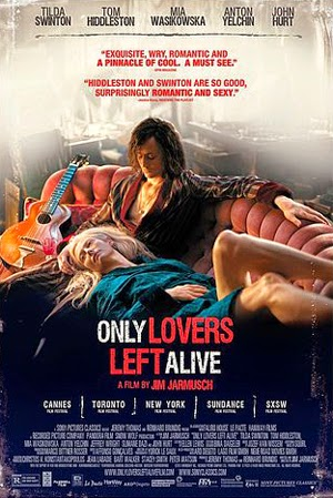 Only Lovers Left Alive 2014 poster