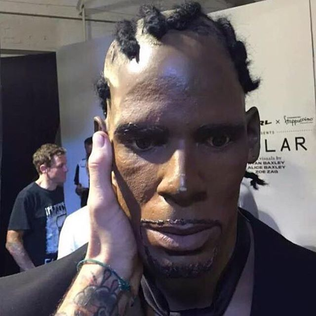 This photo of R... R Kelly Cornrows