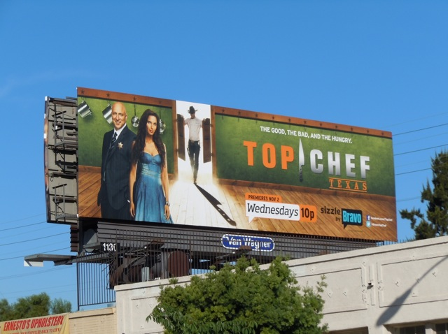 Top Chef Texas Bravo billboard