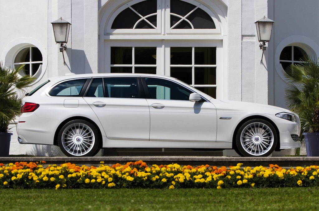BMW ALPINA B5 BITURBO TOURING DESIGN DETAIL