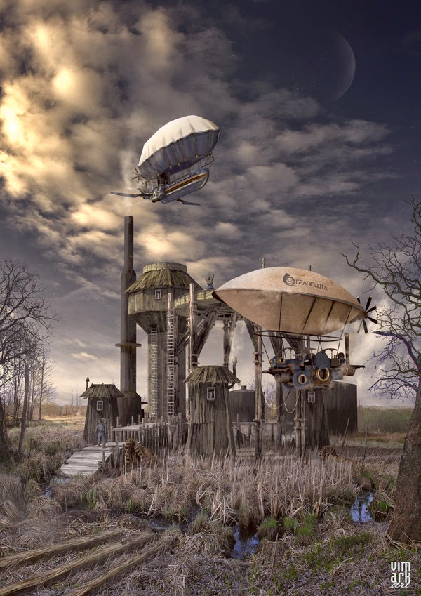 23-Post-office-Max-Mitenkov-Paintings-of-Surreal-Post-Apocalyptic-Forgotten-Worlds-www-designstack-co