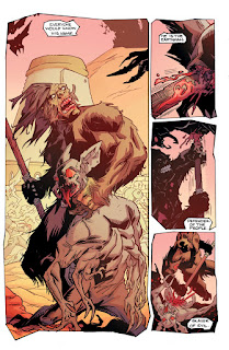 Bigfoot Sword of the Earthman Issue #2 comic book preview barbarian graphic novel