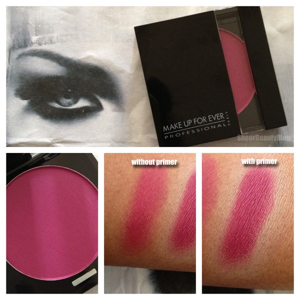 It contains nylon powder, allowing it to be blended as desired. The result is intense and long-lasting. Since its diameter is the same as the powder blushes ...