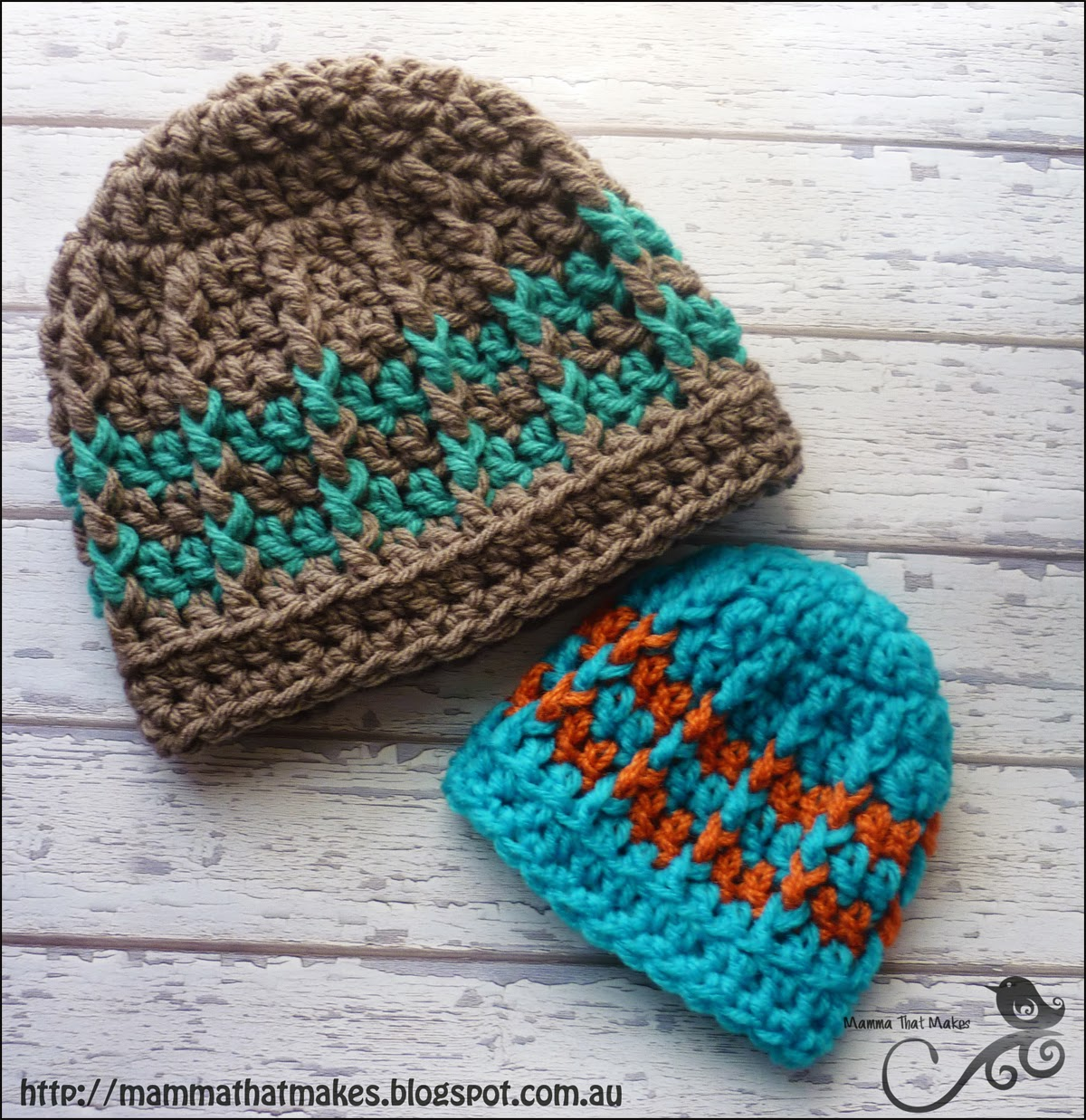 Mamma That Makes: Michael Beanie - Free Crochet Pattern