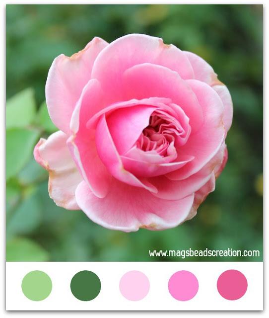 Color Inspiration Monday - magsbeadscreation.com
