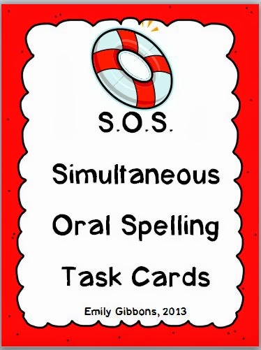http://www.teacherspayteachers.com/Product/SOS-Multisensory-Spelling-Strategy-Task-Cards-978483