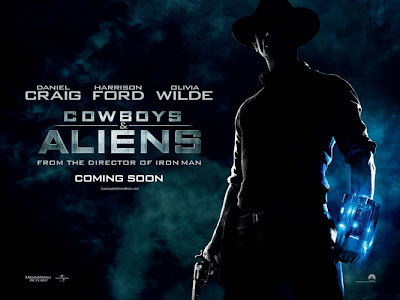 Kovboylar ve Uzaylilar (Cowboys And Aliens) Poster