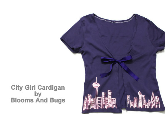 City Girl Cardigan tutorial