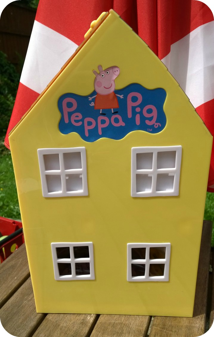 The Peppa Pig Muddy Puddles Deluxe Playhouse Is A Large Peppa Pig Playset  Modelled On Peppau0027s Family Home. My Two Were Completely Delighted To See  The House ...