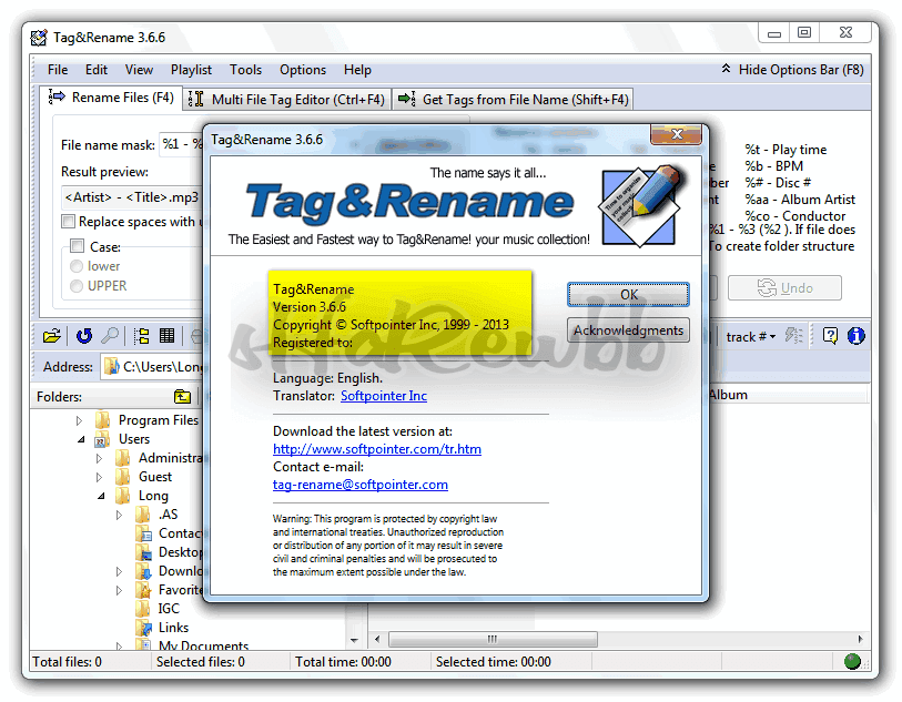 Download Tag And Rename Free