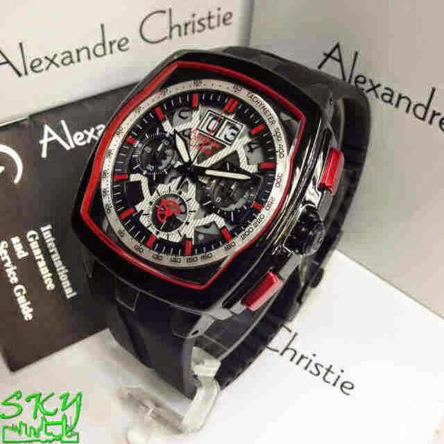 Alexandre Christie 6319 SB hitam merah