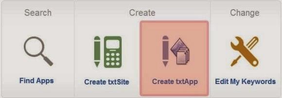 txtWeb-createApp