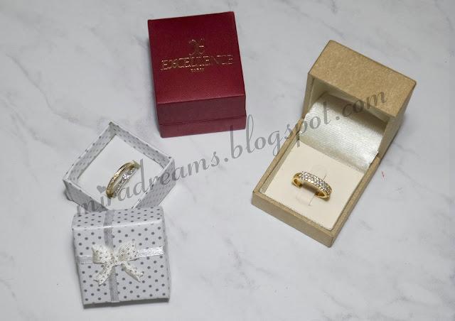 Des bijoux en argent plaqué or achetés à mini prix <3